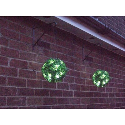 Pair 23cm Solar Hang Bay Balls
