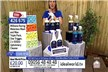 Williams Racing Waterless Wash and Wax Triple Pack, 500ml Upholstery Cleaner Plus A Bonus 500ml Upholstery Cleaner