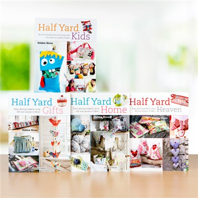 Half Yard Book Collection by Debbie Shore - includes Kids, Gifts , Home, and Heaven