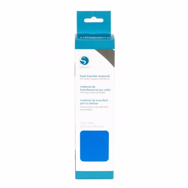 Silhouette Smooth Heat Transfer Material (Size 9 x 36) - Blue No Colour