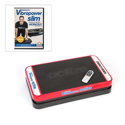 Vibrapower Active with Vibrapower Slim DVD