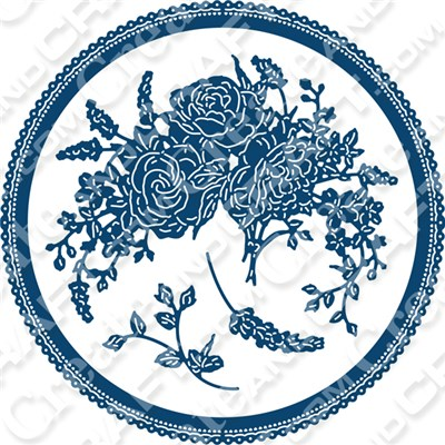 Tattered Lace Charisma Country Garden Die