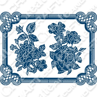 Tattered Lace Charisma Country Meadow Die
