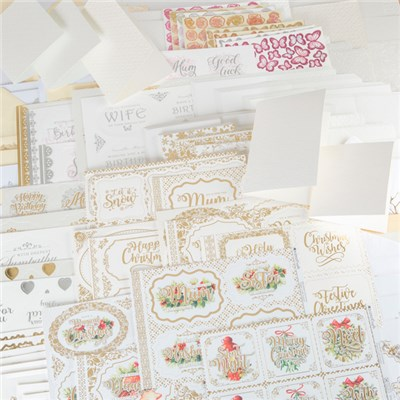 Kanban Decadent Delights Luxury Christmas Card and Everyday Multibuy