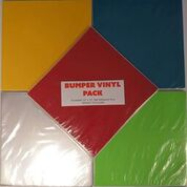 Silhouette Glossy Permanent Vinyl Bumper Pack No Colour