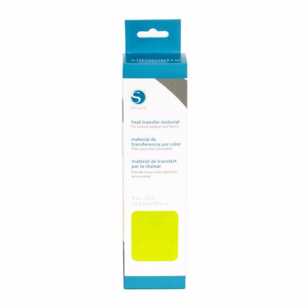 Silhouette Smooth Heat Transfer Material (Size 9 x 36) - Lime Green No Colour