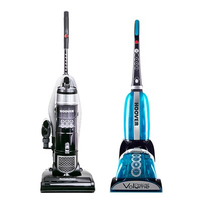 Hoover Hurricane Pets Upright Vacuum with CleanJet Volume Plus Cleaner