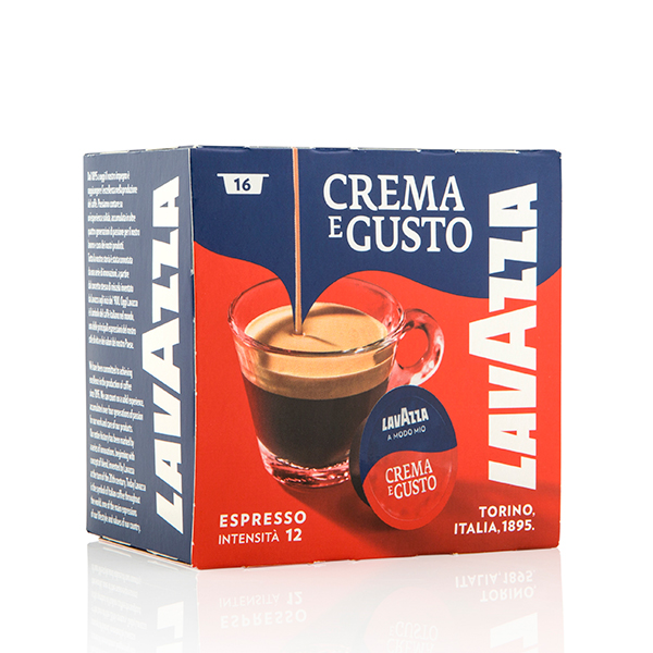 Lavazza Crema Gusto 16 capsules No Colour