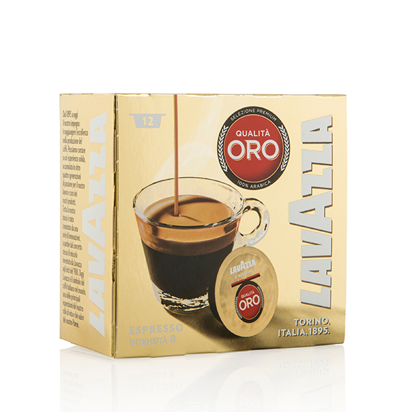 Lavazza Qualita ORO 12 Capsules No Colour