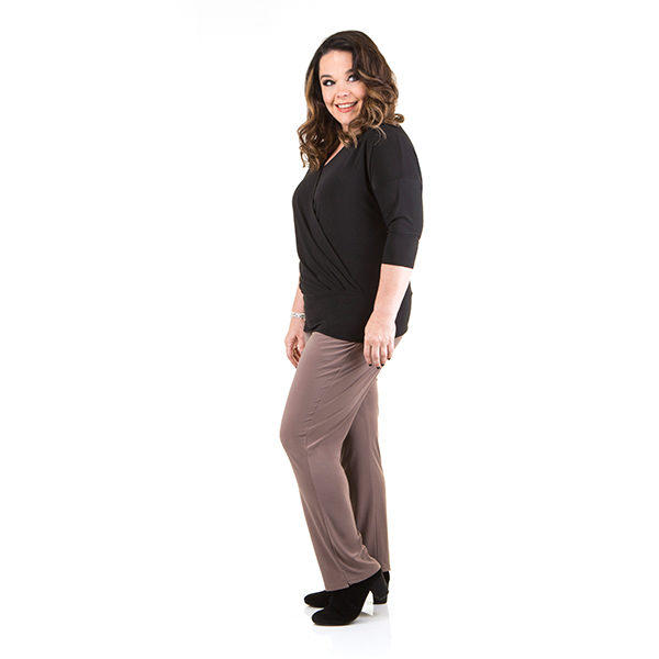 Just Be You Luxe Trouser Mocha
