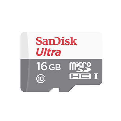 SanDisk 16GB Ultra microSDHC UHS-1 Card