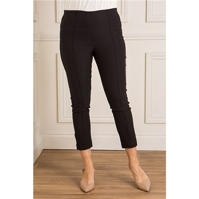 Emelia Superstretch Bengaline Ankle Grazer Trouser 27 Inch