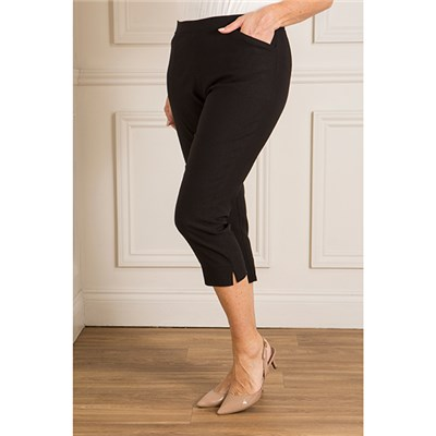 Emelia Super Stretch Bengaline Cropped Trouser