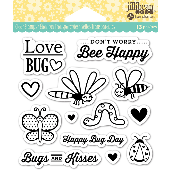 Clear Stamp Love Bug No Colour