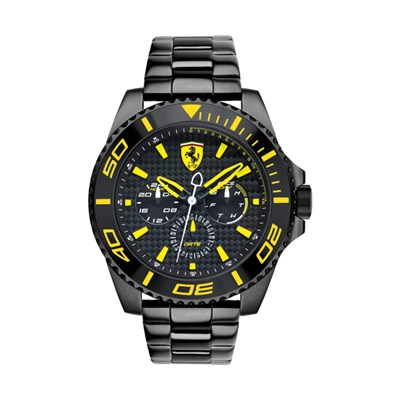 Scuderia Ferrari Gent's XX Kers with PVD Plated Stainless Steel Bracelet