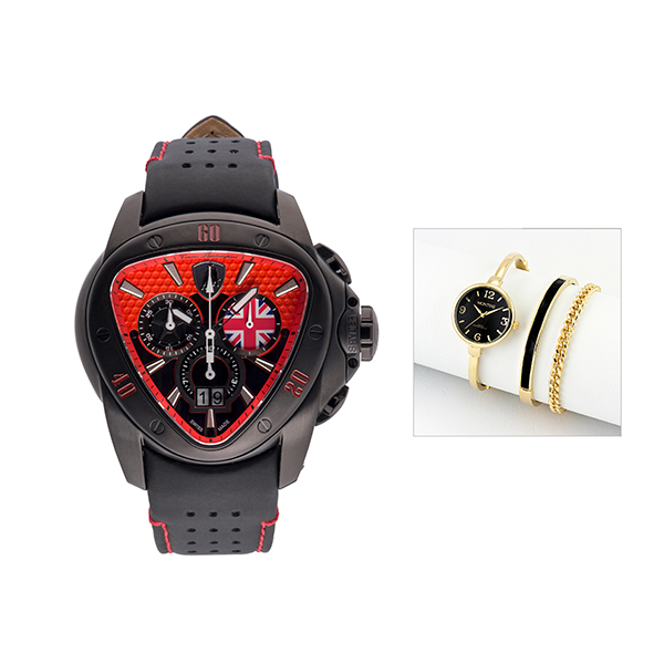 Tonino Lamborghini Limited Edition Spyder 1200 with FREE Ladies' Watch Red