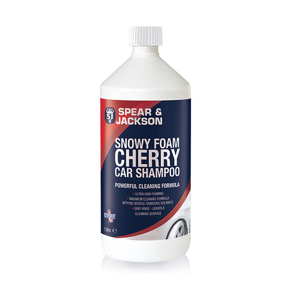 Spear and Jackson Snow Foam Cherry Car Shampoo 1L No Colour