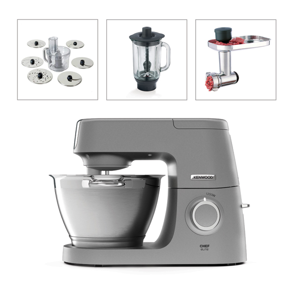 Kenwood Chef Elite with Food Processor and Blender and Voucher for Grinder No Colour