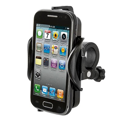 Bicycle Handlebar Mounted Mobile Phone Holder