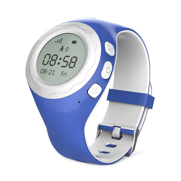 WATCHU Kids GPS Tracking Phone Watch Blue