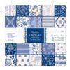 "Papermania 12 x 12"" Paper Pack (32pk) - Capsule Collection - Parisienne Blue"