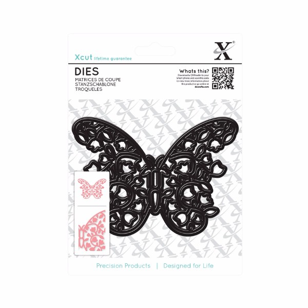 Xcut Dies (1pc) - Floral Filigree Butterfly No Colour