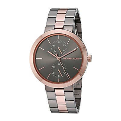 Michael Kors Ladies' Garner Watch with Stainless Steel Bracelet