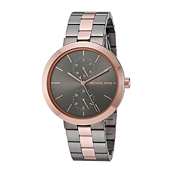 Michael Kors Ladies' Garner Watch with Stainless Steel Bracelet Grey