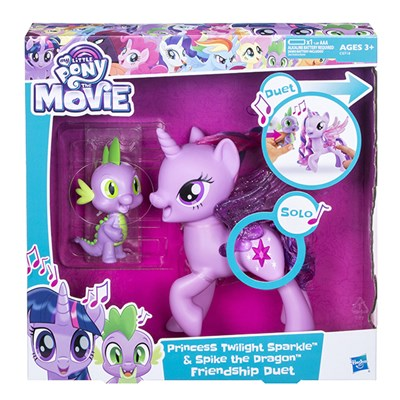 My Little Pony Movie Twilight and Spike