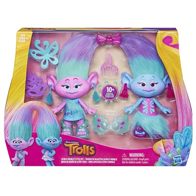Trolls Satin and Chenilles Style Set