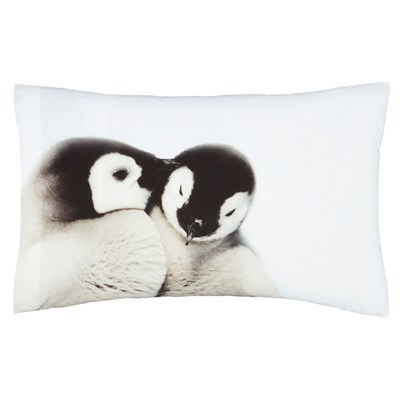 Snuggly Penguins Pillow Case Set