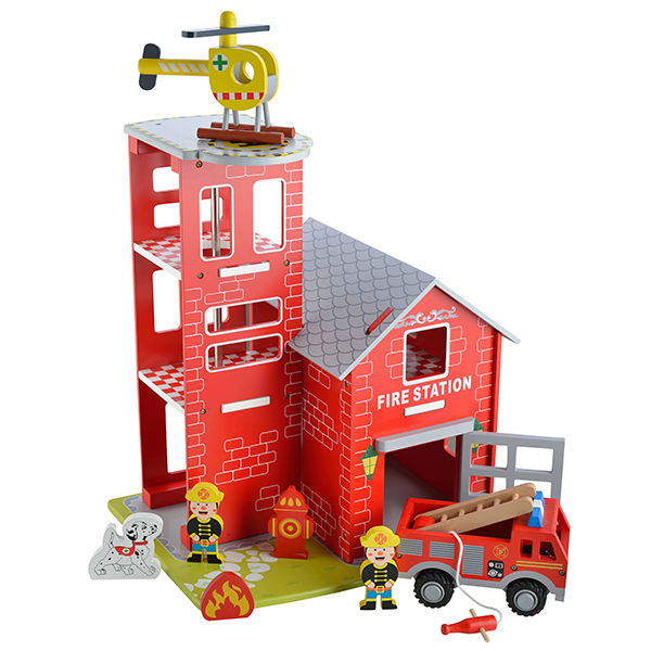 Wooden Fire Station No Colour