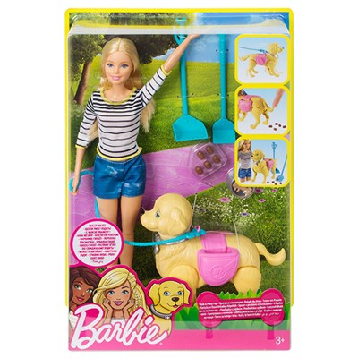 Barbie Feature Pet Pooping Dog