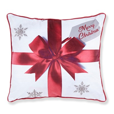 Merry Christmas Pressies Cushion Cover (43 x 43cm)