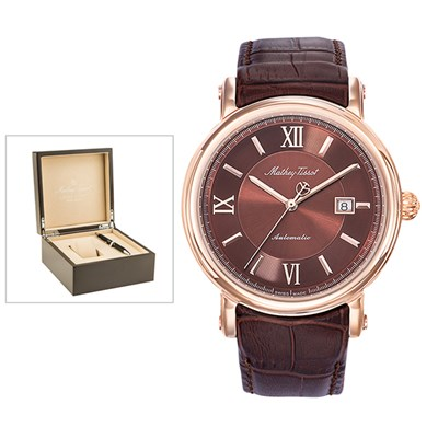 Mathey-Tissot Renaissance Automatic Watch with Luxury Display Box and Pen