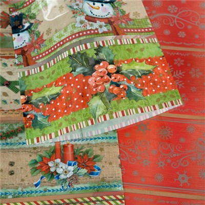 Pinflair Christmas Shrink Wraps - Choice of Traditional or Victorian