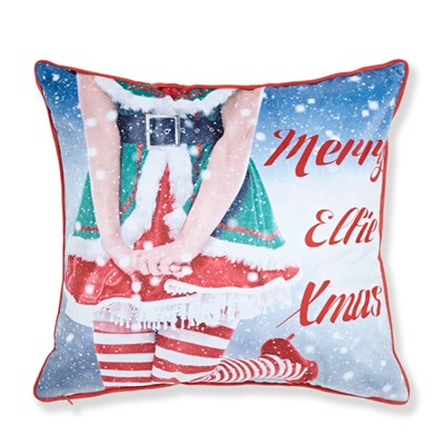 Mr and Mrs Elfie Cushion Cover (43 x 43cm)