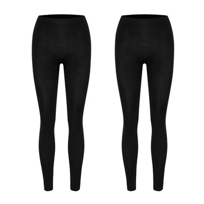 Bella Bodies Twin Pack Footless Shaping Leggings
