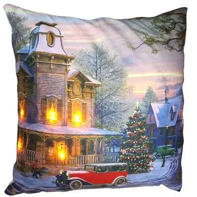 Snow Street LED Cushion