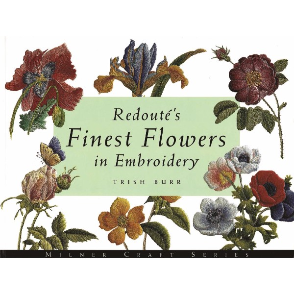 ISBN 9781863512930 Redoute's Finest Flowers in Embroidery No Colour