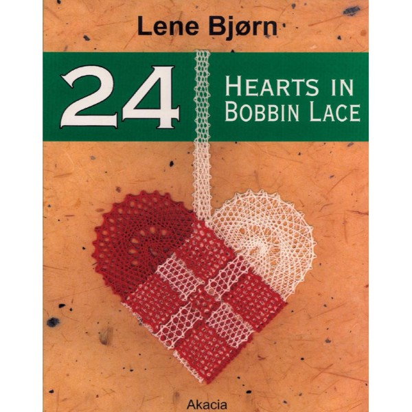 ISBN 9788778470492 24 Hearts in Bobbin Lace No Colour