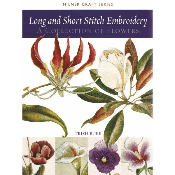 ISBN 9781863513524 Long and Short Stitch Embroidery No Colour