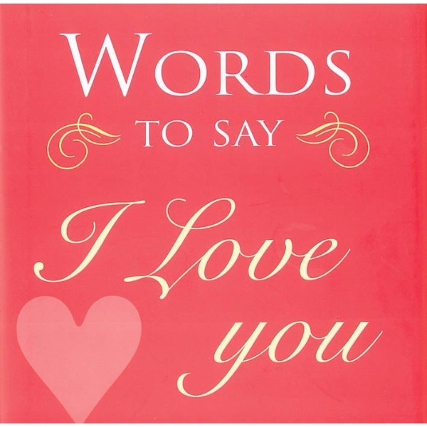ISBN 9781906094225 Words to Say I Love You No Colour