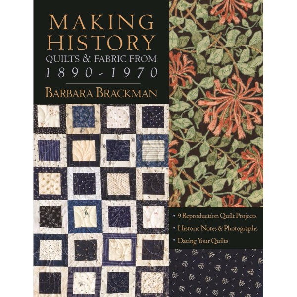 ISBN 9781571204530 Making History Quilts & Fabric From 1890-1970 No Colour