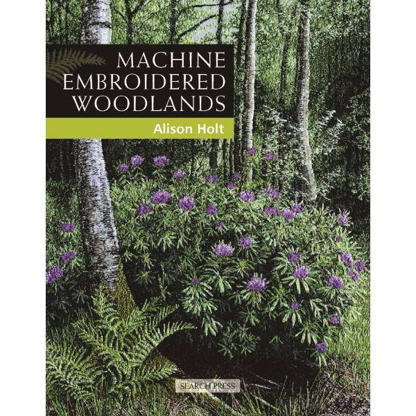 ISBN 9781844482733 Machine Embroidered Woodlands No Colour