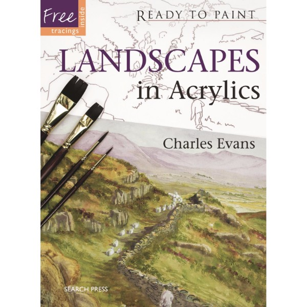 ISBN 9781844484232 Landscapes in Acrylics No Colour