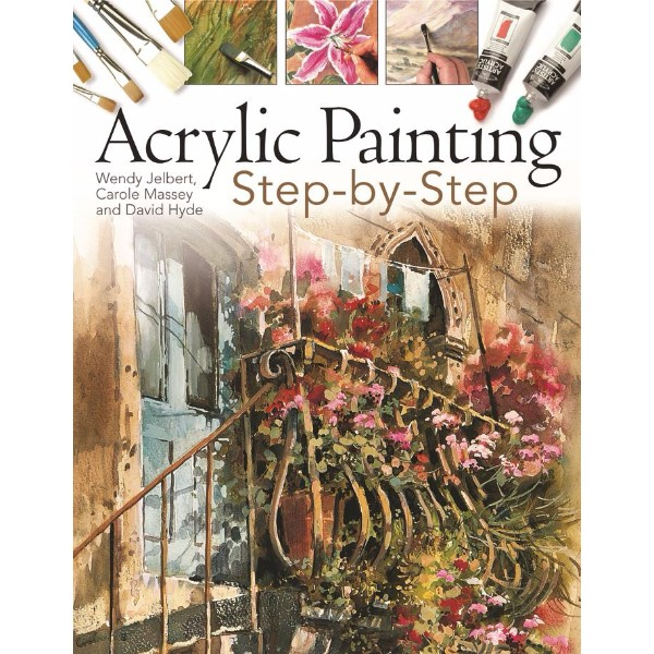 ISBN 9781844484119 Acrylic Painting Step-by-Step No Colour