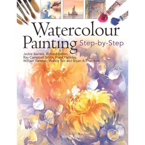 ISBN 9781844484386 Watercolour Painting Step-by-step No Colour