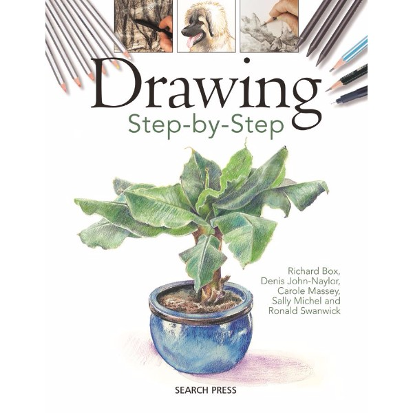 ISBN 9781844484393 Drawing Step-by-step No Colour