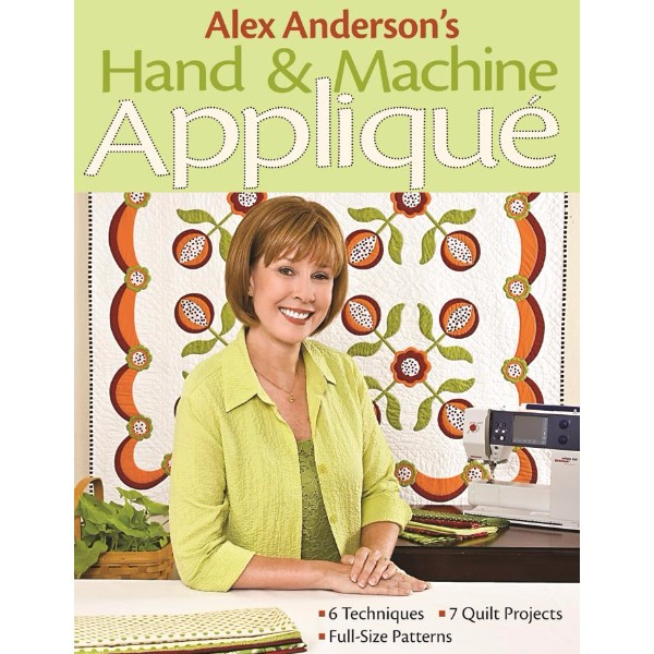 ISBN 9781571206114 Alex Andersons Hand & Machine Applique No Colour